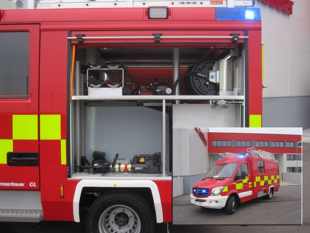 E-Force Combi tool in new Rosenbauer CL Appliance